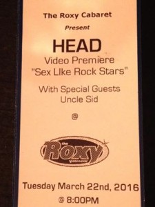 sex like rockstars tickets video release